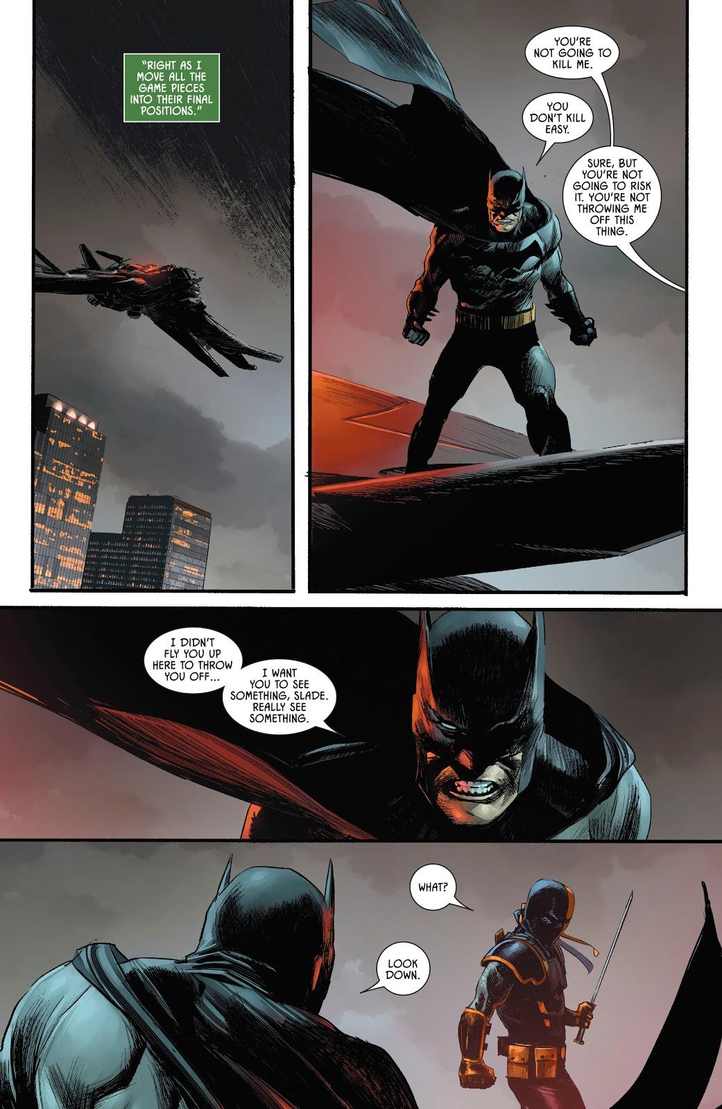 Deathstroke Knows Batman Is Bruce Wayne