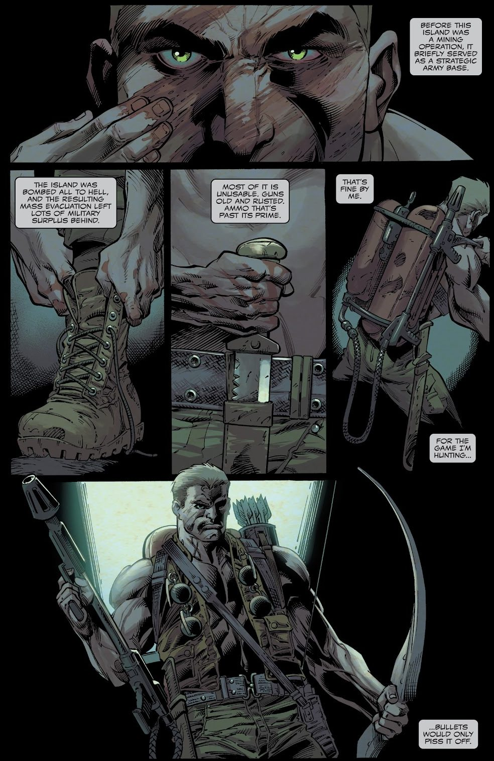 Eddie Brock Chops Off His Hand