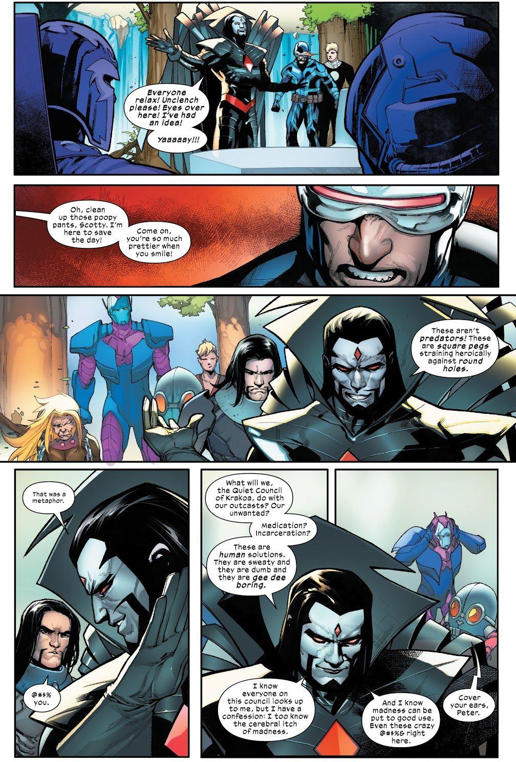 Mister Sinister Creates The Hellions