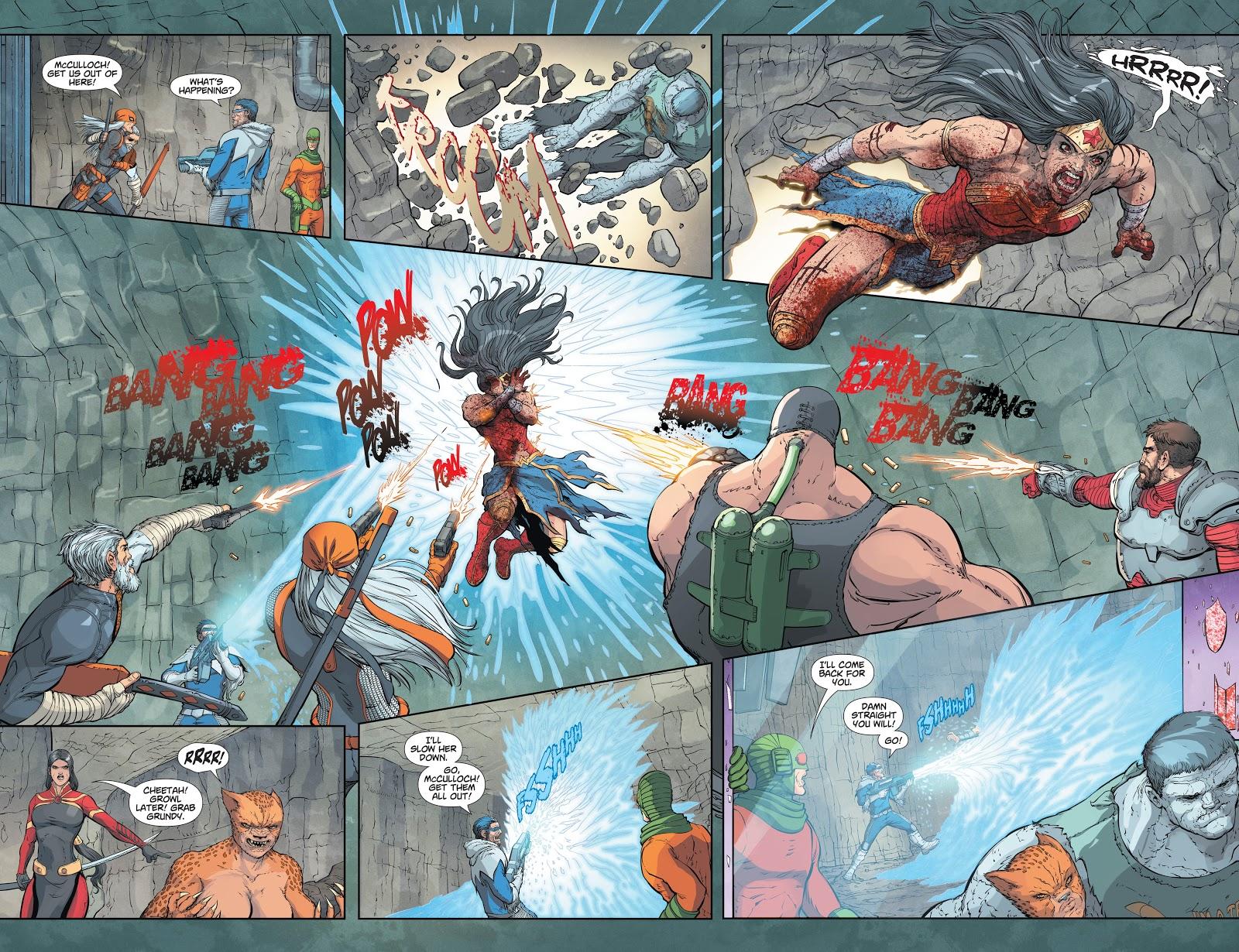 Zombie Wonder Woman Kills Vandal Savage