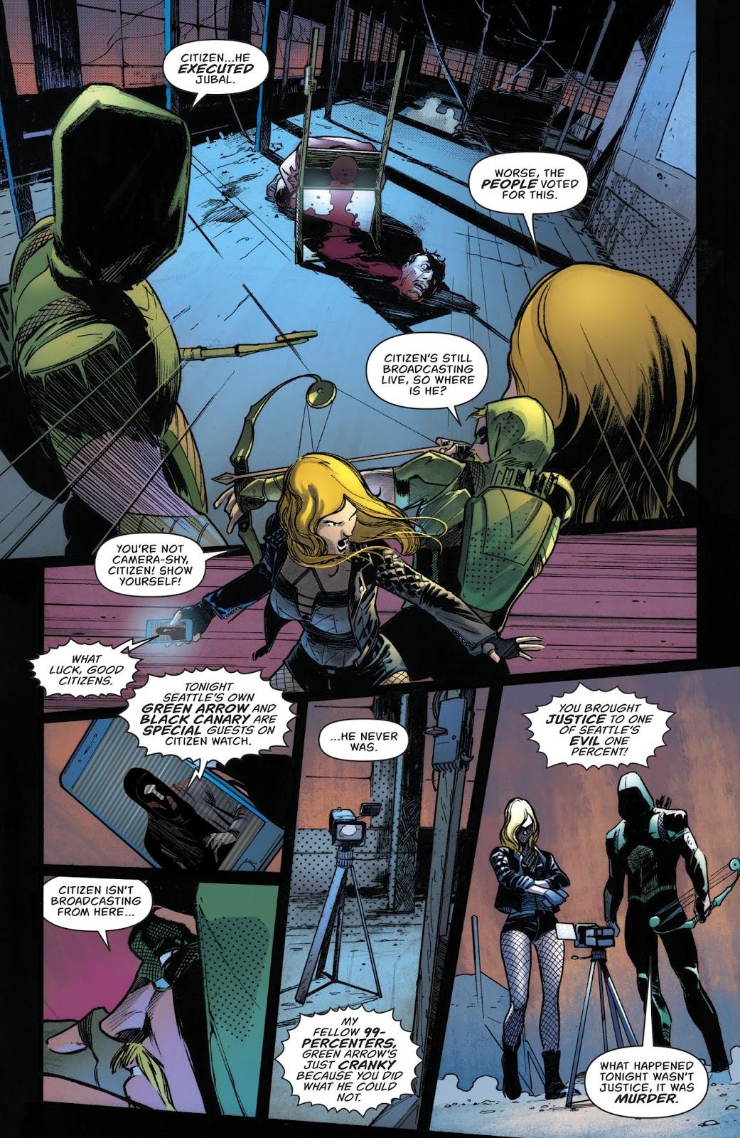 Citizen's First Apperance (Green Arrow Vol. 6 #43)
