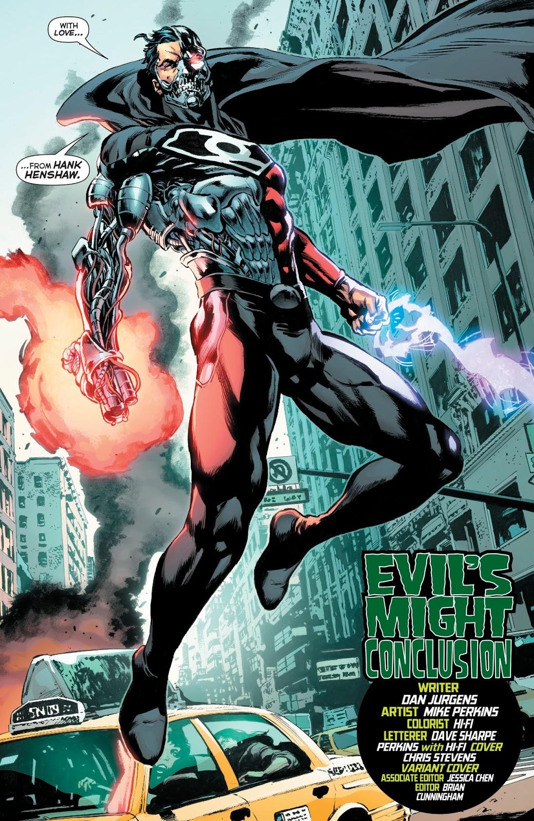Cyborg-Superman (Green Lanterns Vol. 1 #57)