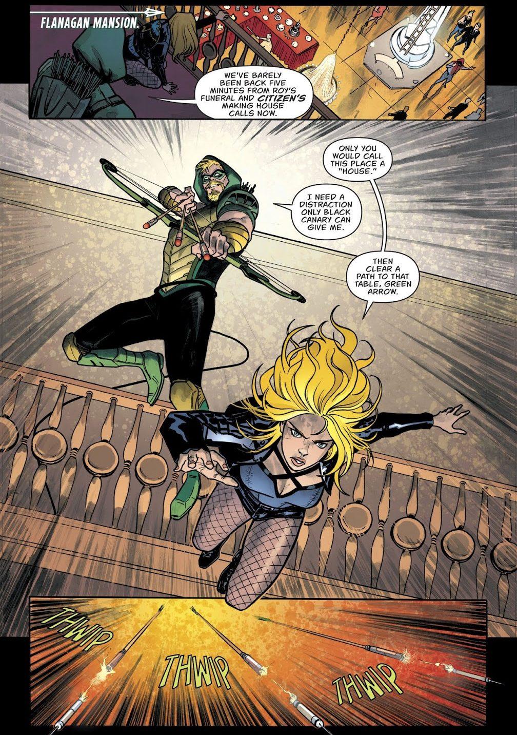 Green Arrow And Black Canary (Green Arrow Vol. 6 #46)