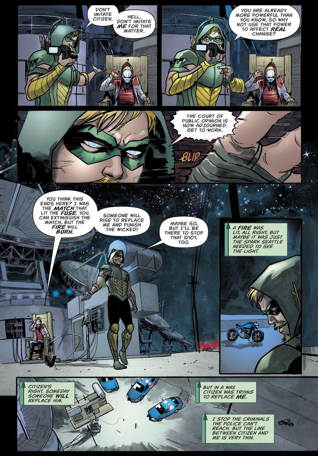 Green Arrow's Message To Social Media Warriors
