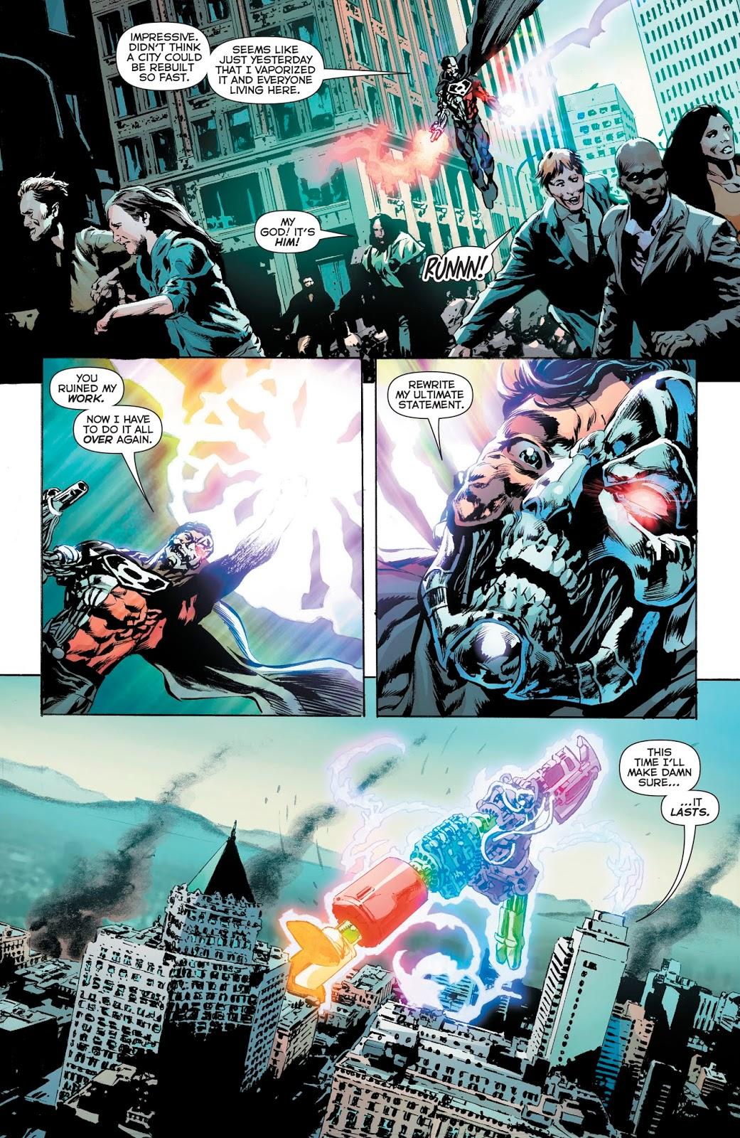 Hal Jordan VS Phantom Lantern Cyborg-Superman