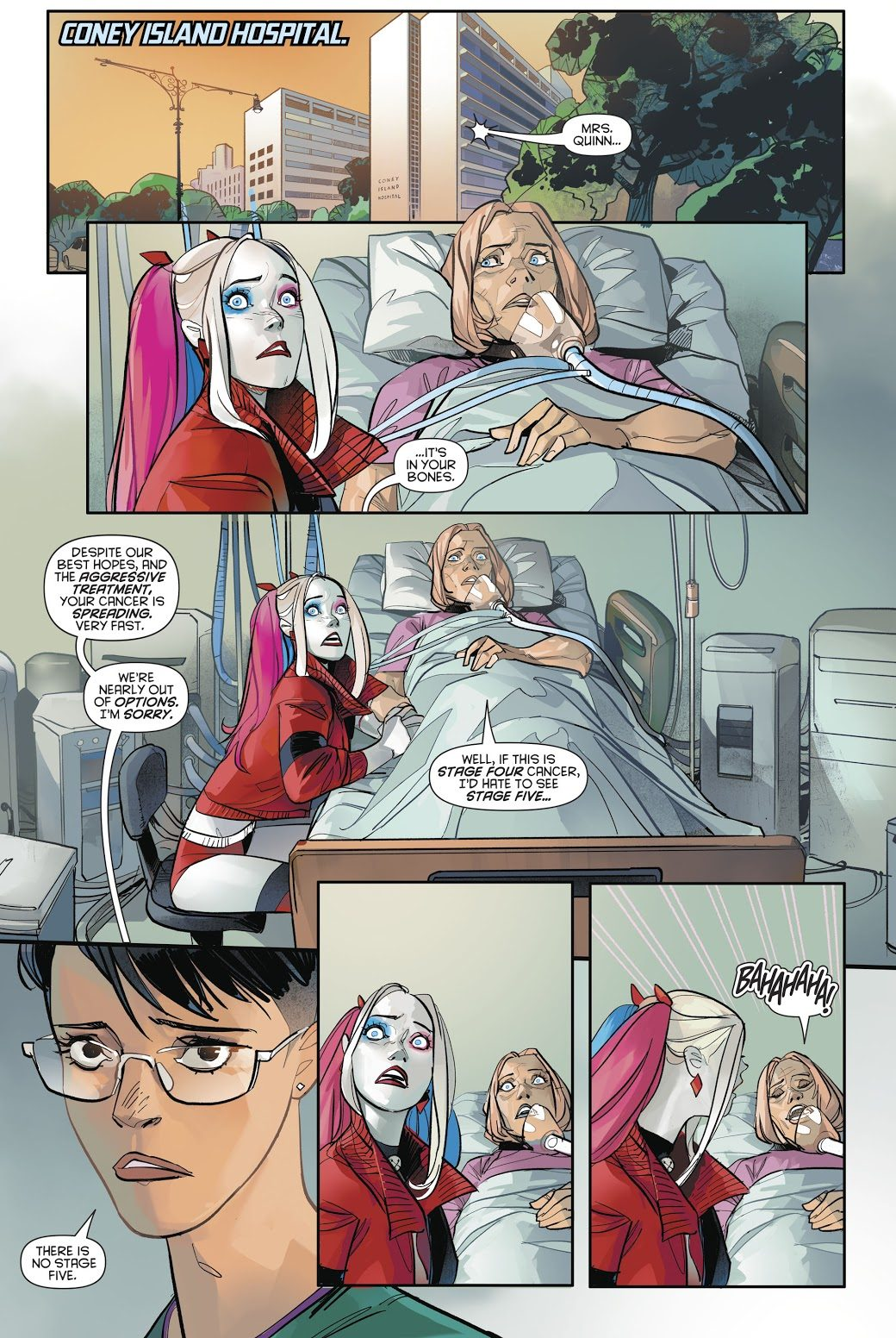 Harley Quinn's Mom Has Stage 4 Cancer