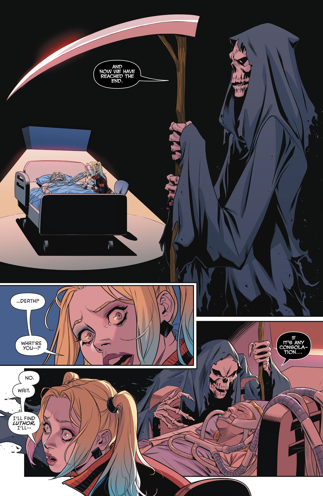 Harley Quinn's Mother Dies