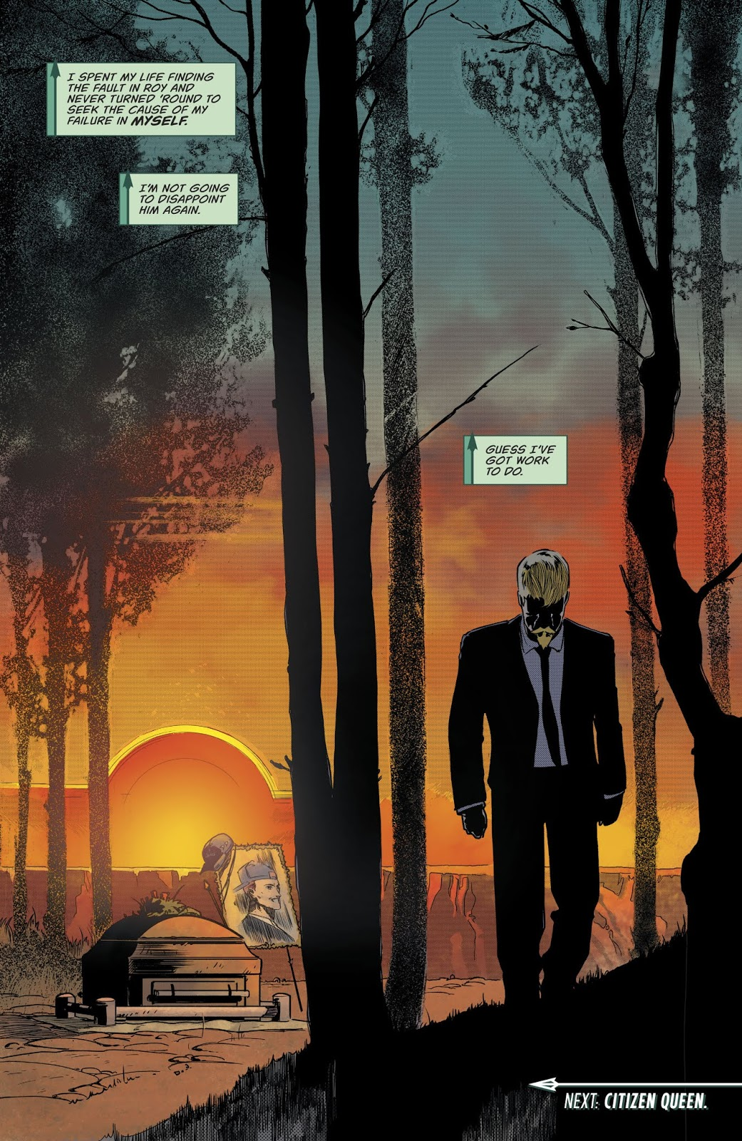 Oliver Queen (Green Arrow Vol. 6 #45)