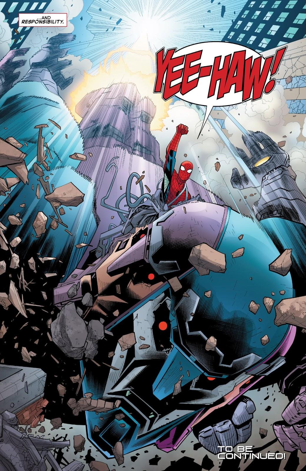 Spider-Man VS The Tri-Sentinel