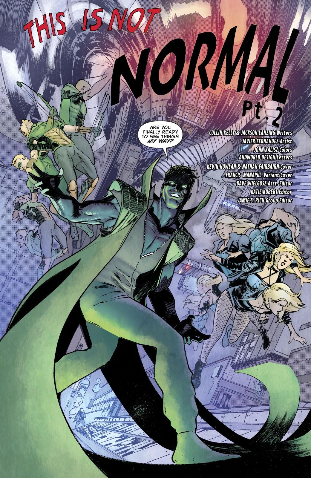 Count Vertigo (Green Arrow Vol. 6 #49)