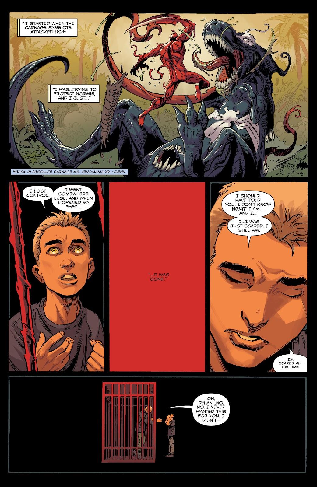 Dylan Brock Venom T-Rex VS Carnage