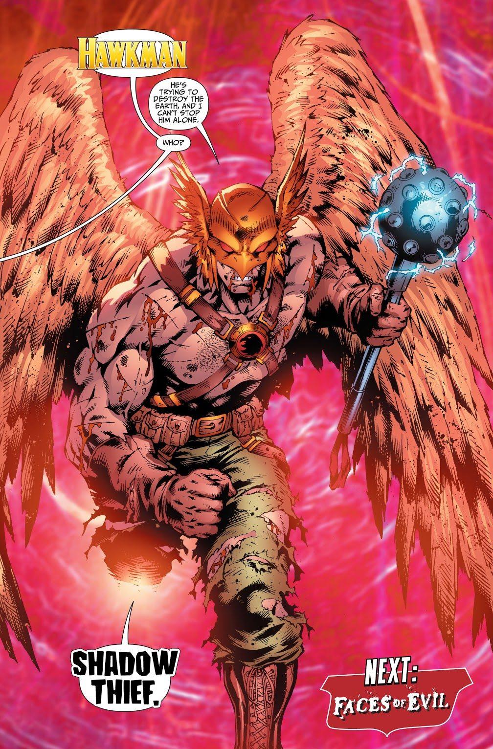 Hawkman (Justice League of America Vol. 2 #28)