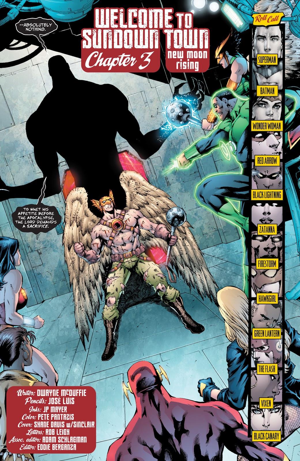 Shadow Thief (Justice League of America Vol. 2 #30)