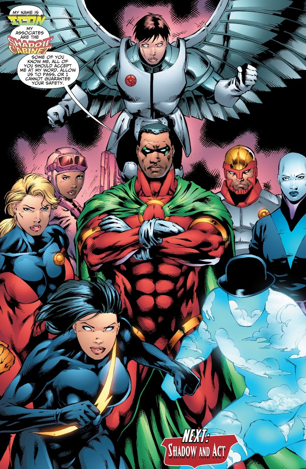 The Shadow Cabinet (Justice League of America Vol. 2 #27)