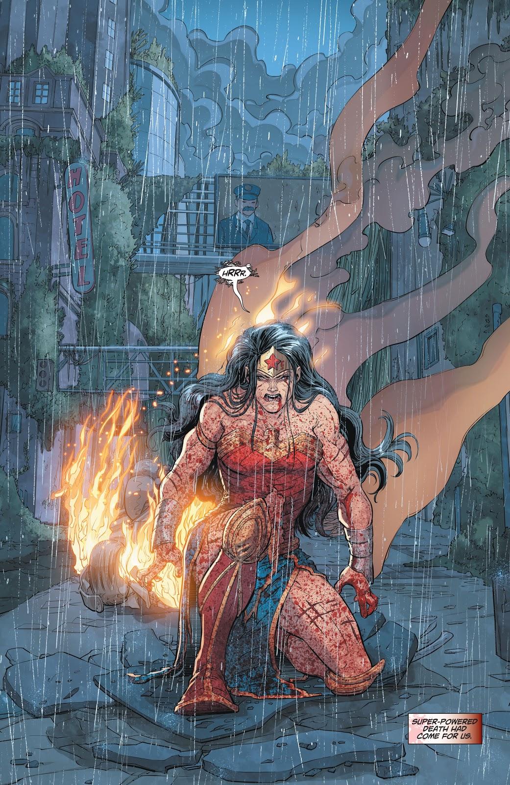 Zombie Wonder Woman (Dceased)