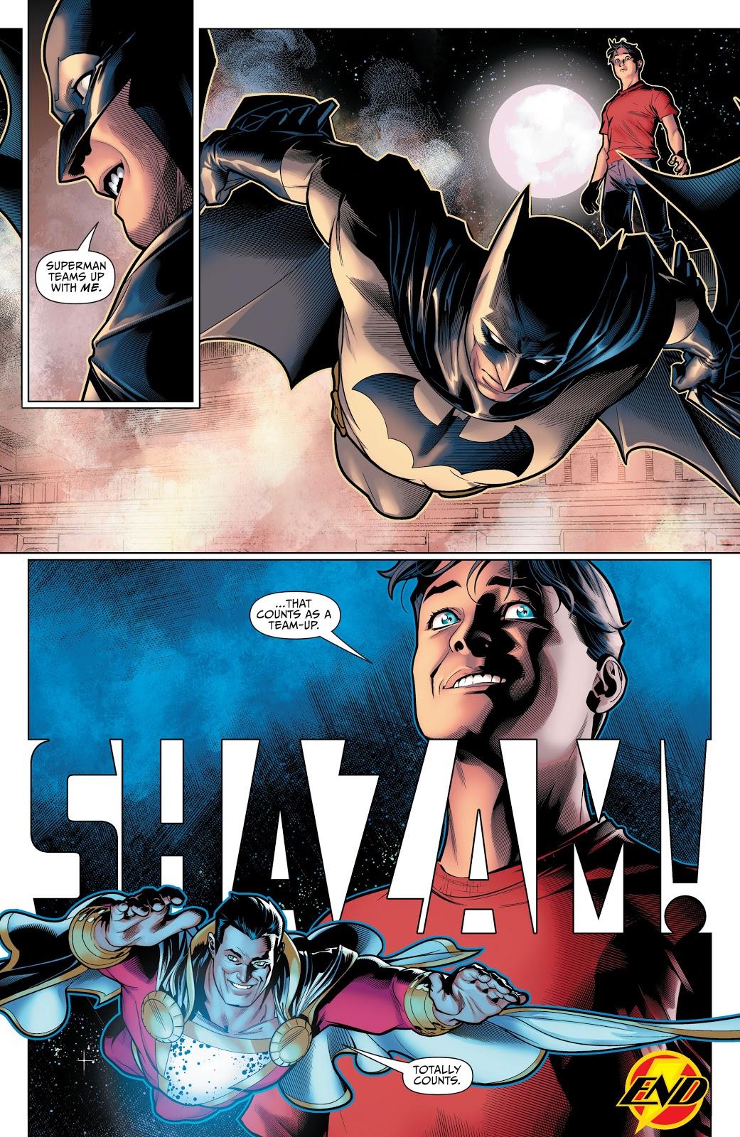 Batman's Life Advice To Shazam 1