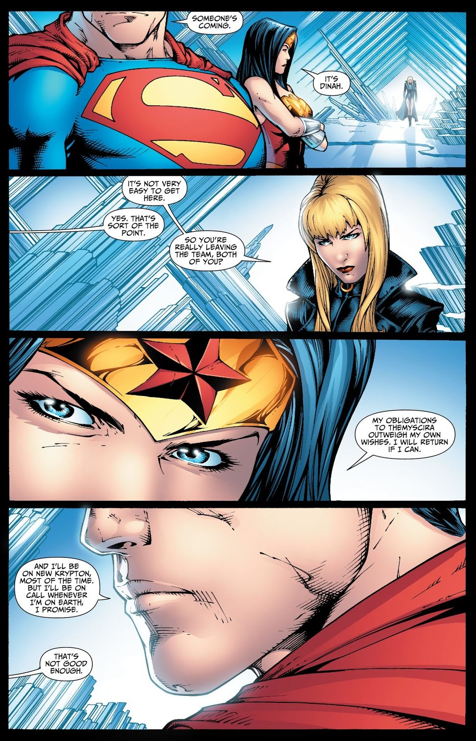 Black Canary Disbands The Justice League