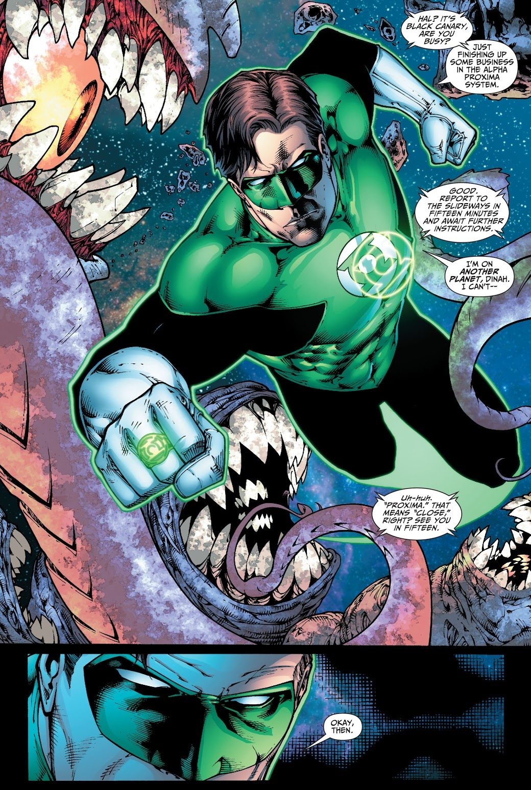 Green Lantern Hal Jordan (Justice League of America Vol. 2 #31)