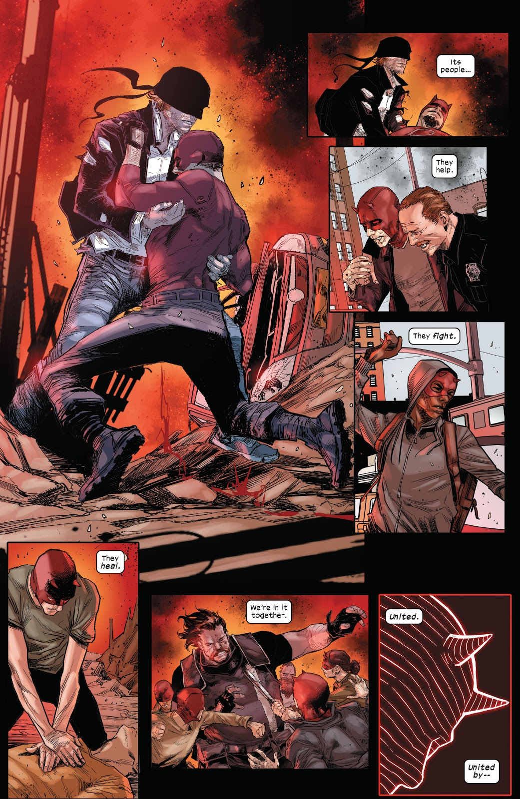 Hells Kitchen Pay Homage To Daredevil