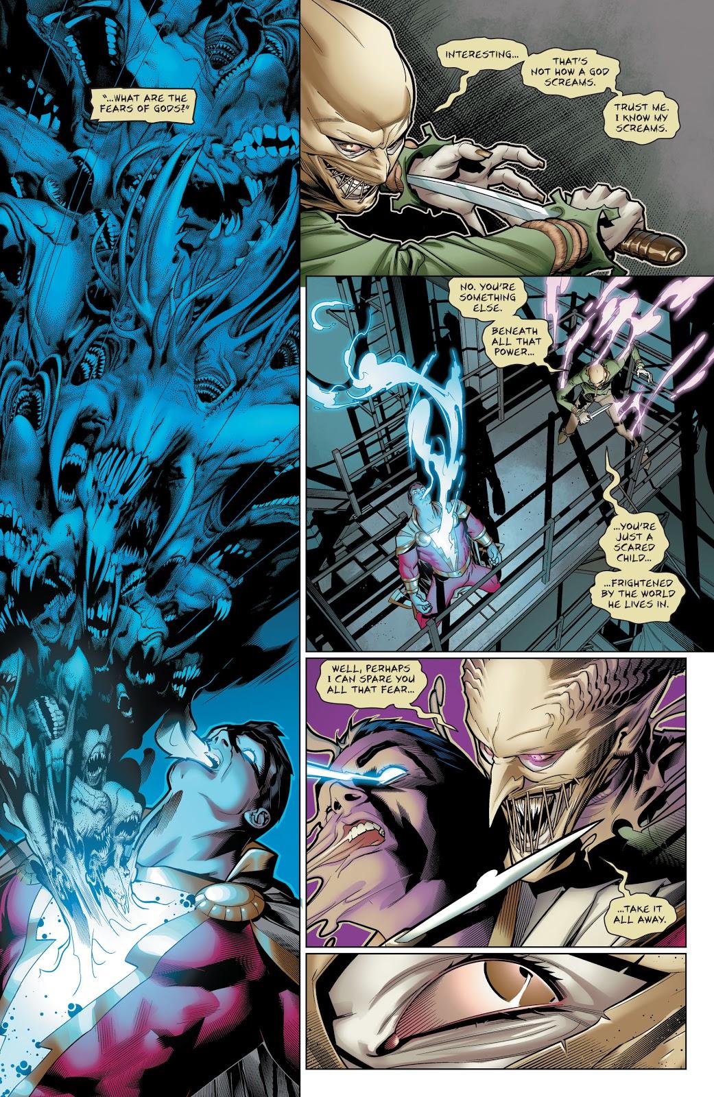 Shazam VS Scarecrow (Rebirth)