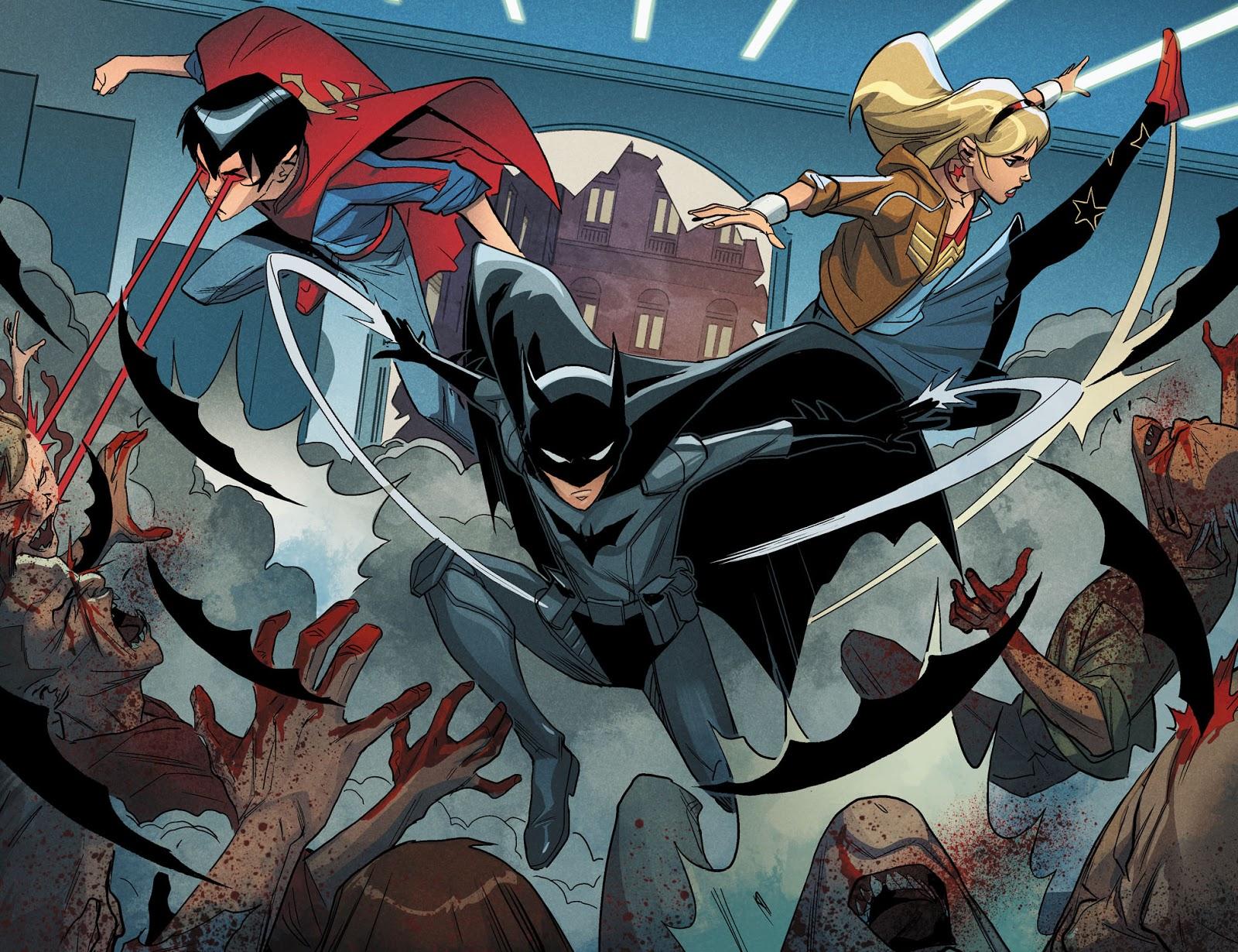 Batman, Superboy And Wonder Girl (DCeased)