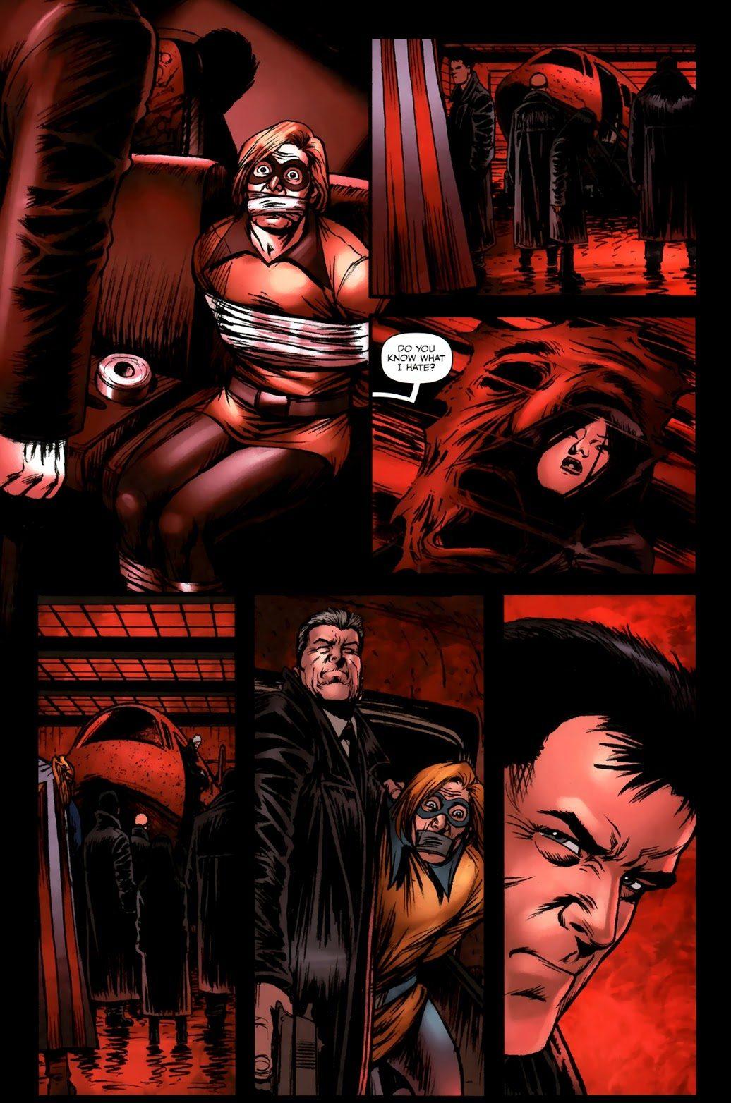 Colonel Mallory Kills The Lamplighter