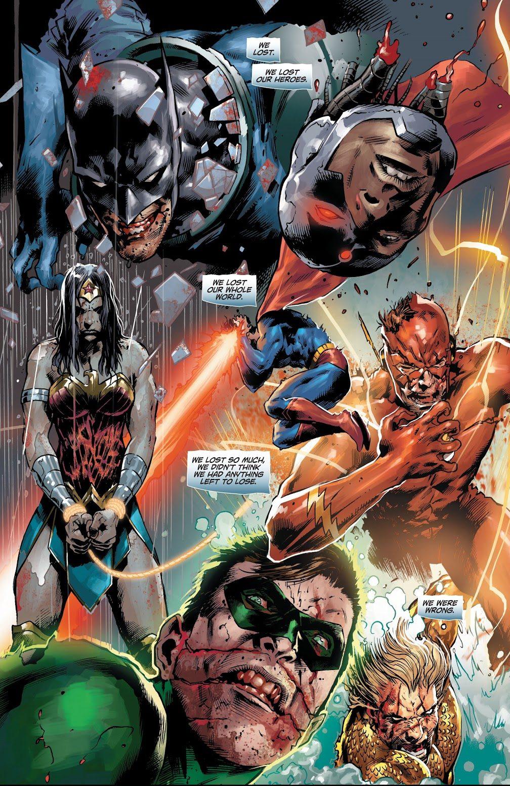 Justice League (DCeased: Dead Planet #1)