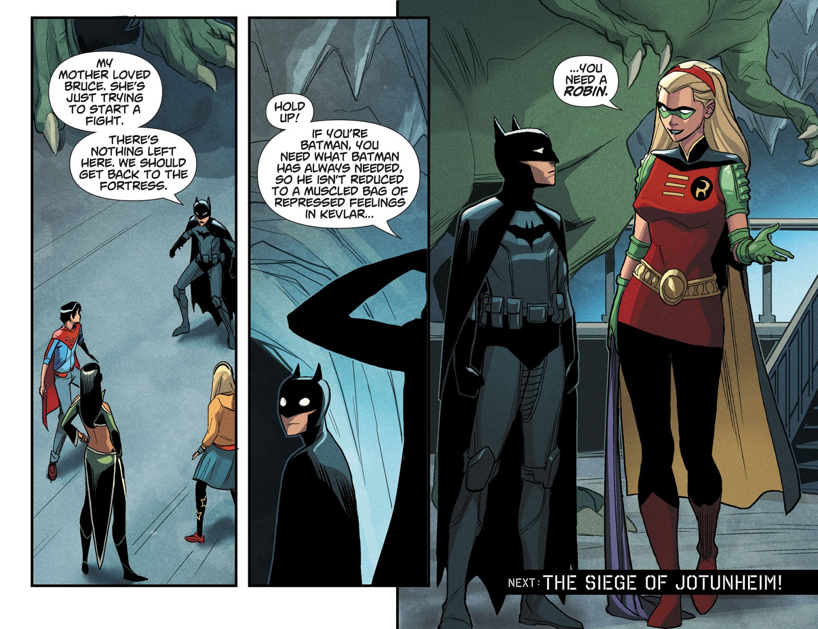 Stephanie Brown Becomes Robin (DCeased)