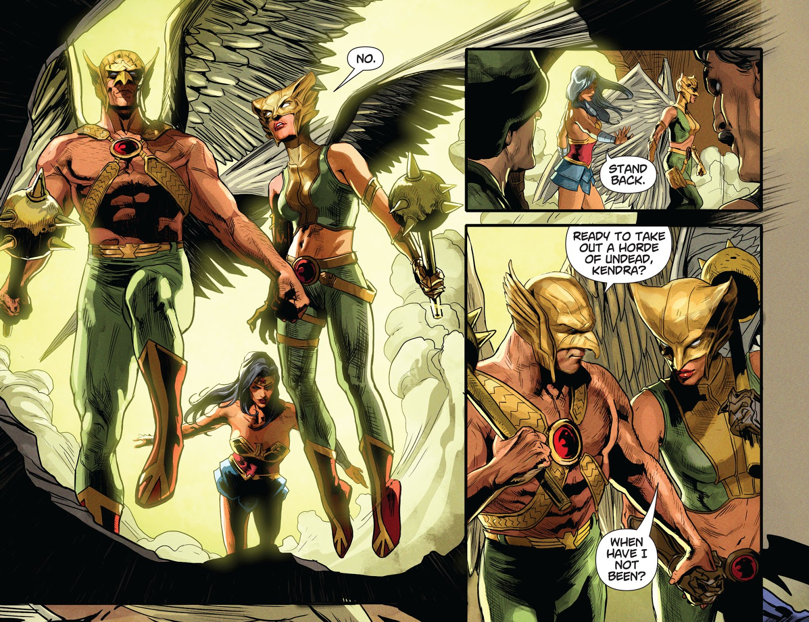 Hawkman And Hawkgirl (DCeased)