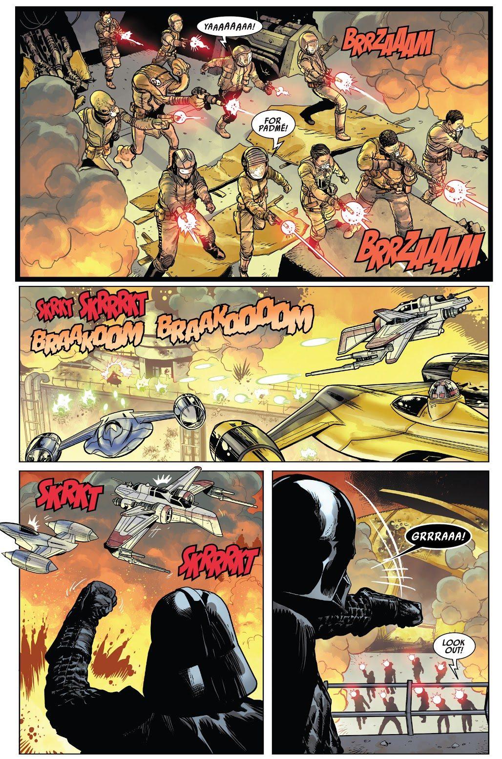 Darth Vader Destroys The Amidalans