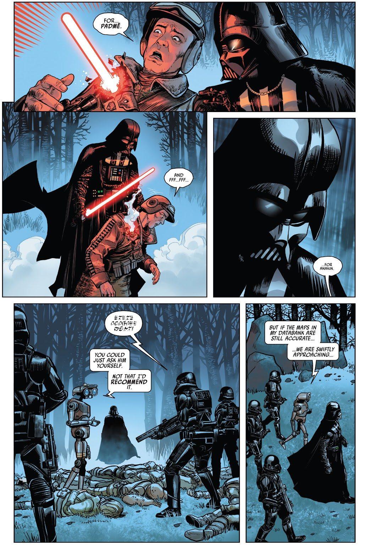Darth Vader Kills Ric Olié