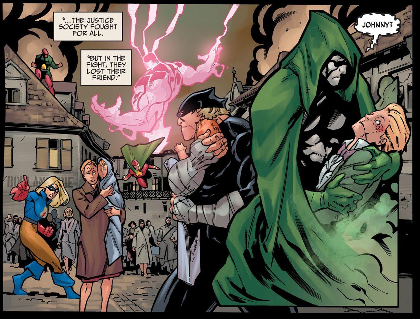 Justice Society Of America VS Yz (Injustice)