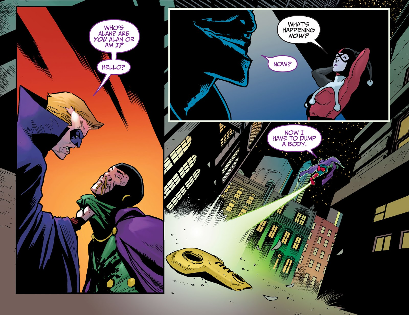 The Joker Kills Sandman (Injustice)
