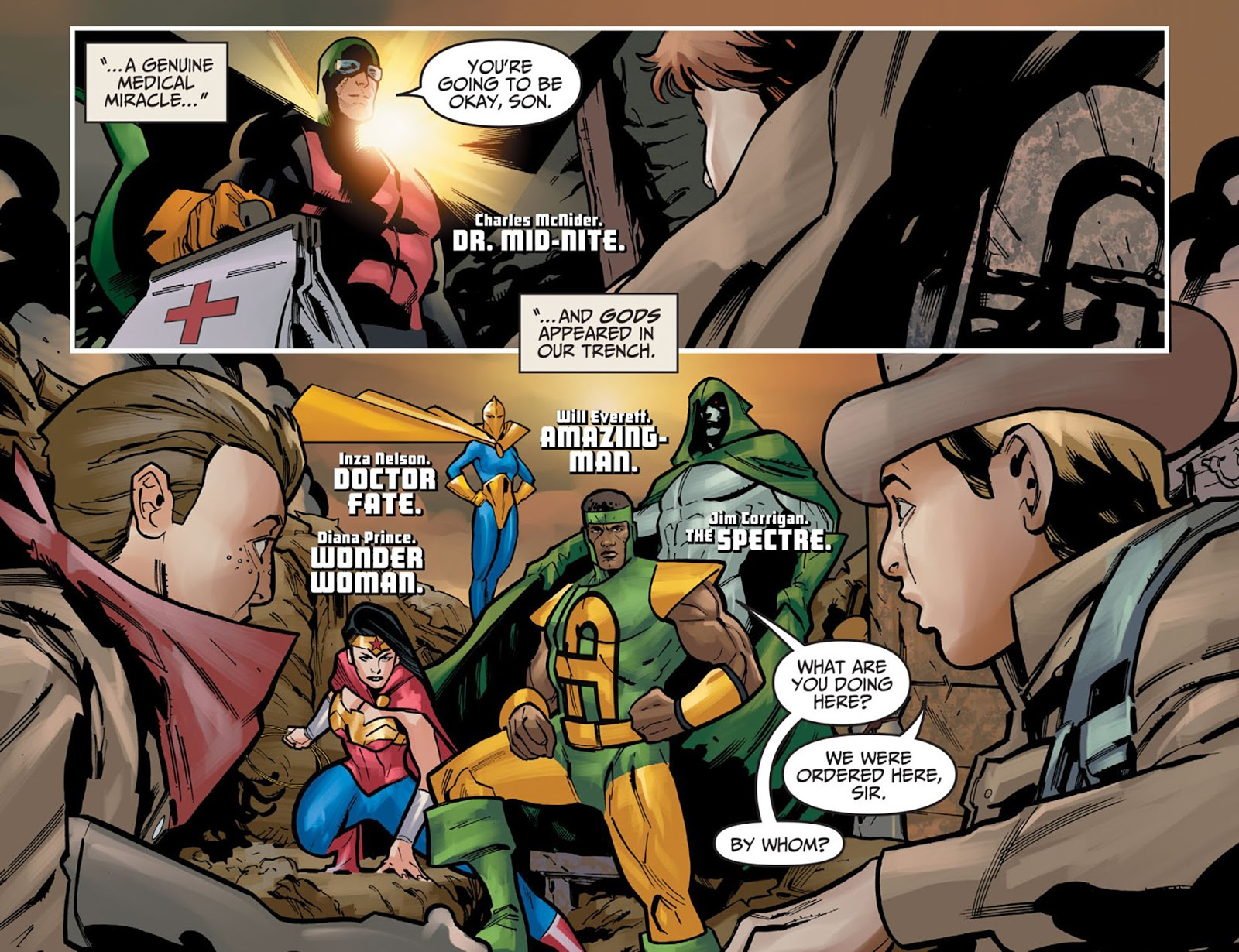 The Justice Society Of America In World War 2 (Injustice)