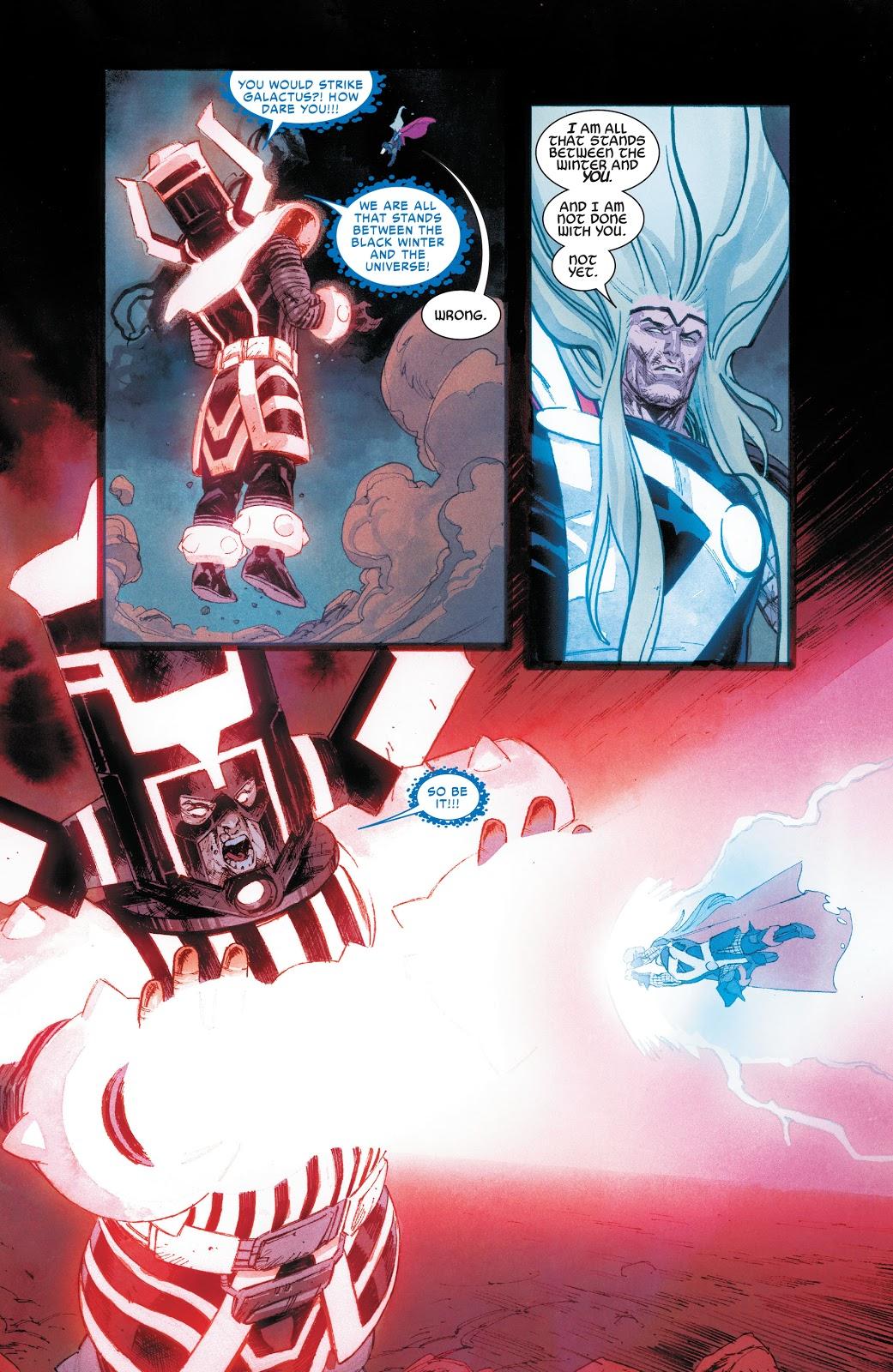 Thor Kills Galactus