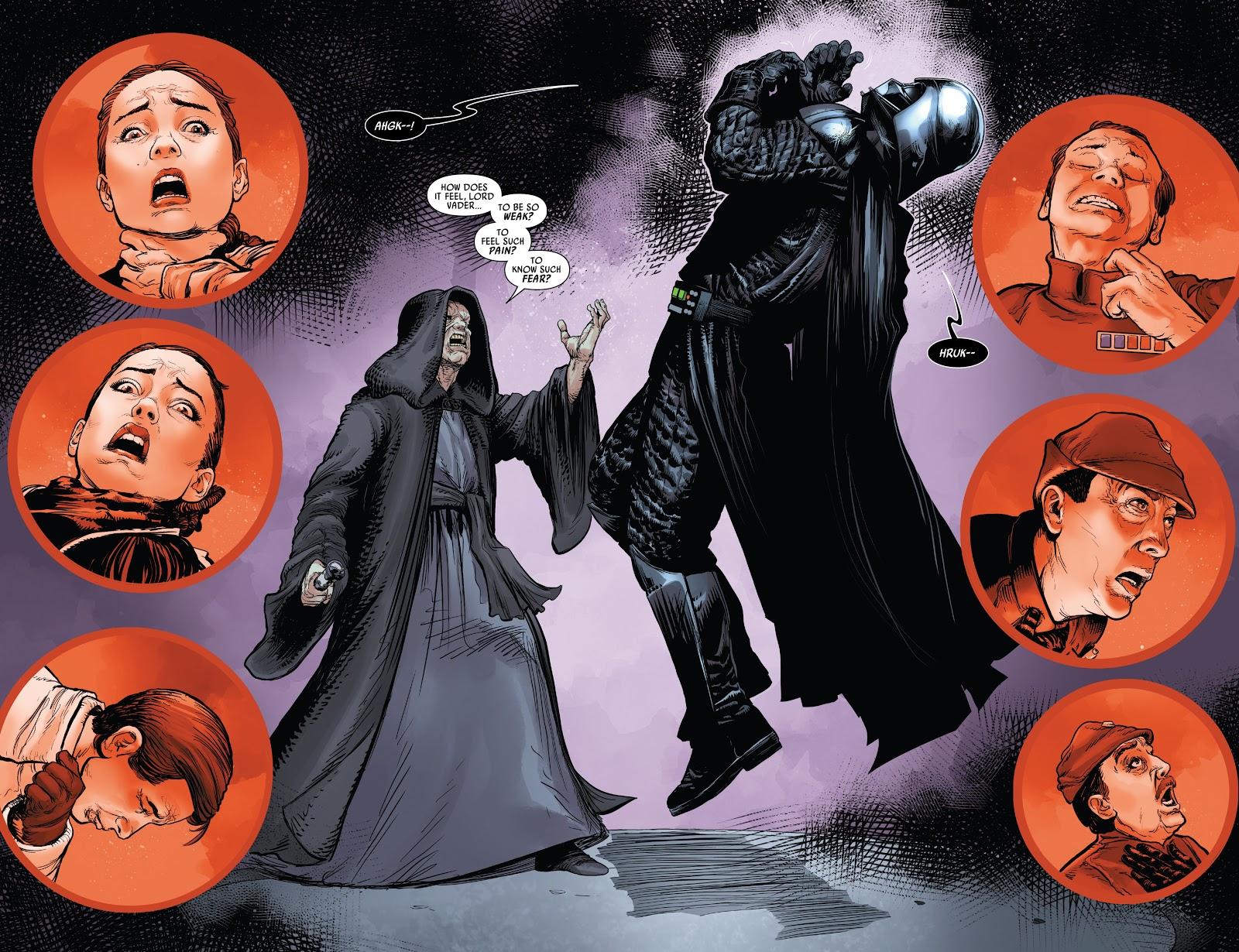 Emperor Palpatine (Star Wars: Darth Vader Vol. 1 #6)
