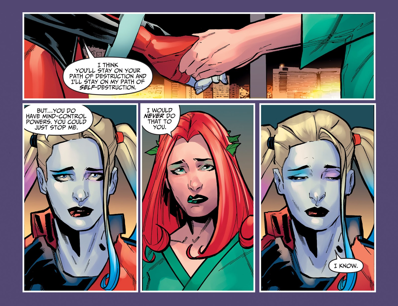Harley Quinn Marries Poison Ivy (Injustice Gods Among Us)