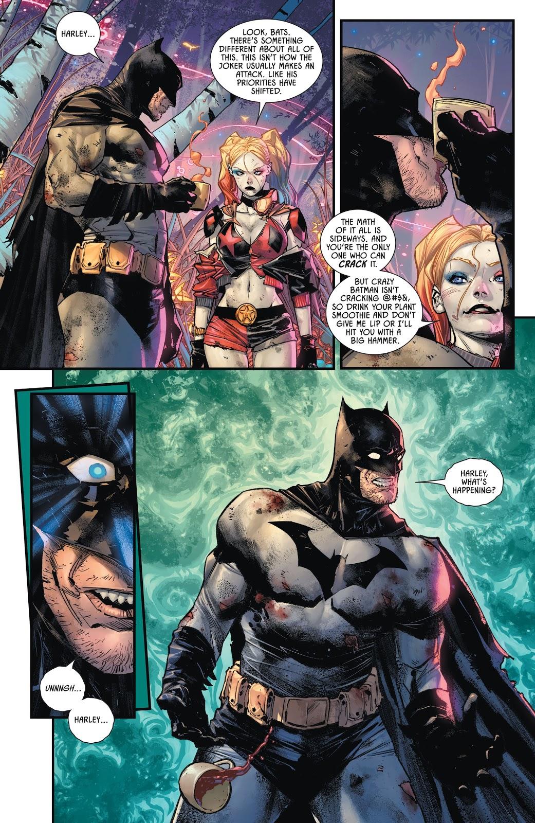 Harley Quinn's Secret Garden On Gotham