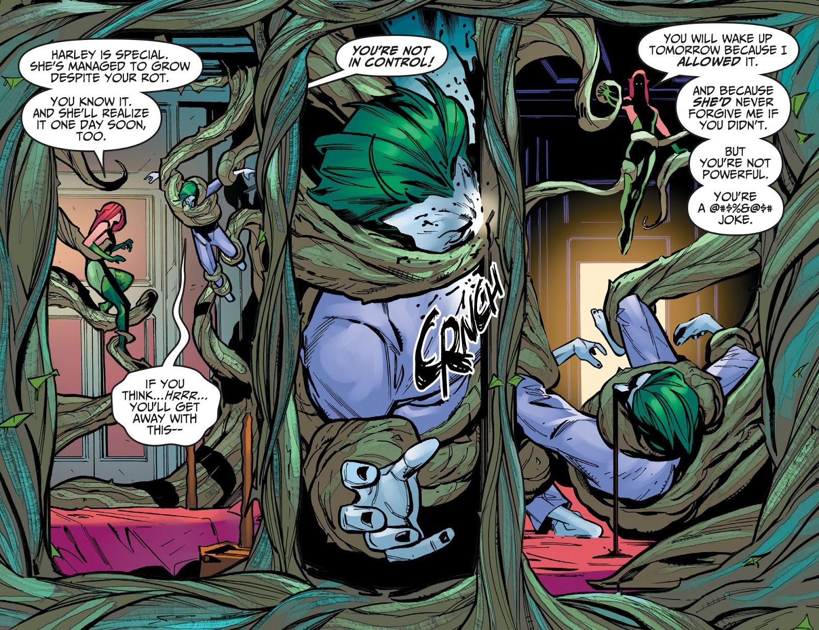 Poison Ivy Threatens The Joker (Injustice Gods Among Us)