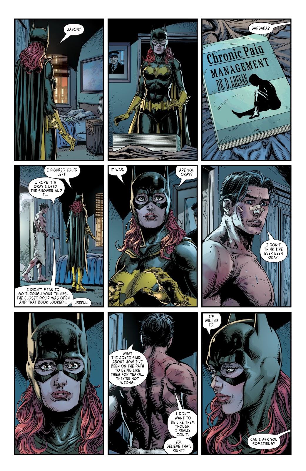 Red Hood And Batgirl Kiss