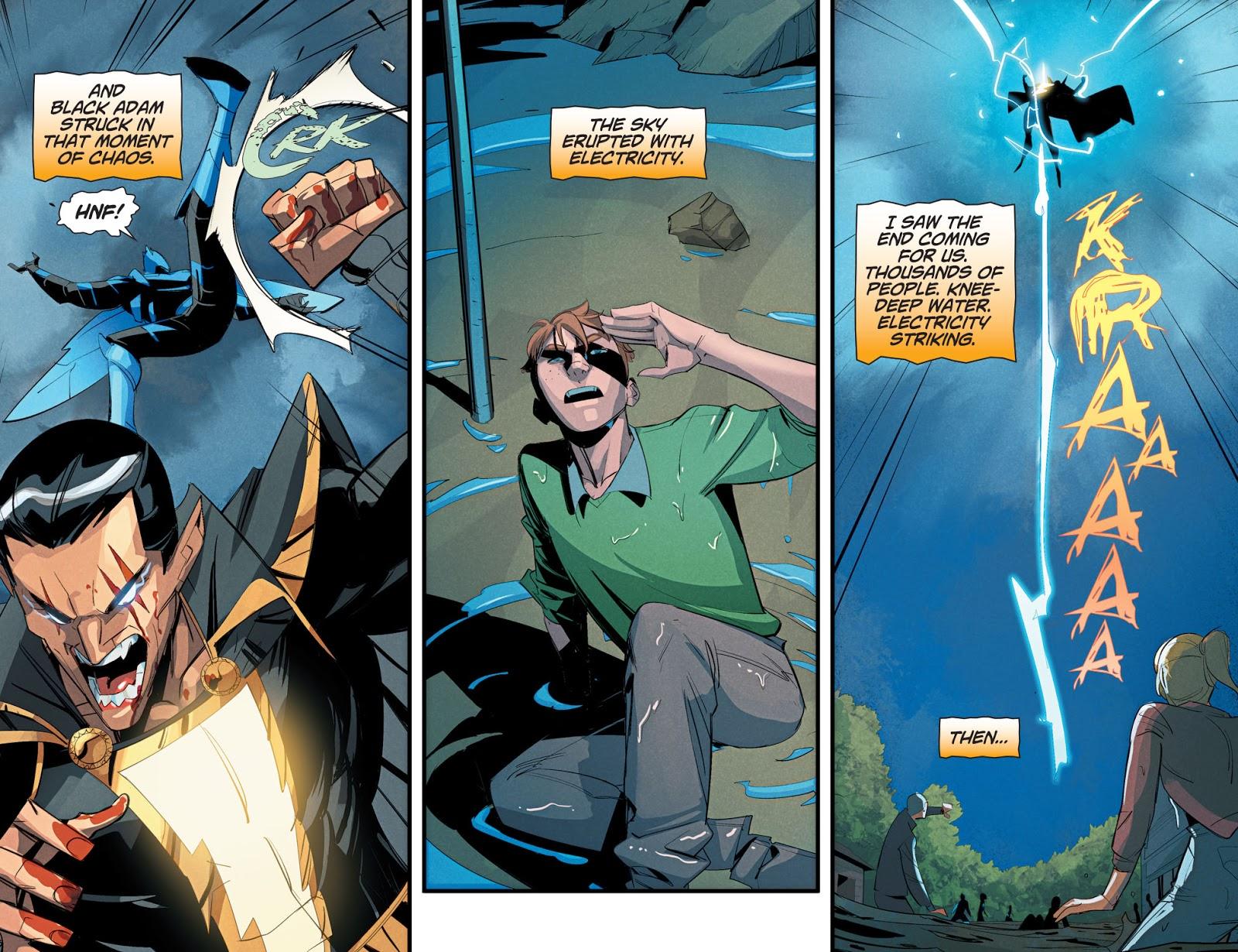 Superboy VS Black Adam (Dceased)