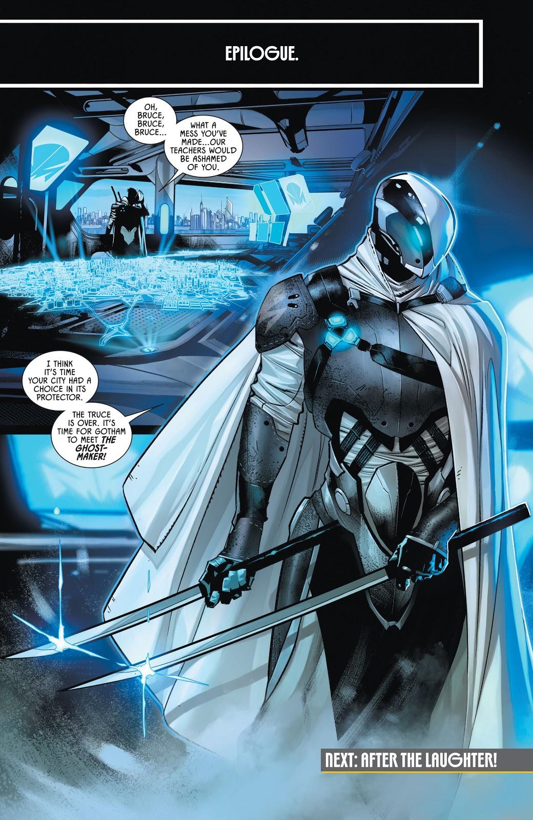 The Ghostmaker (Batman Vol. 3 #100)