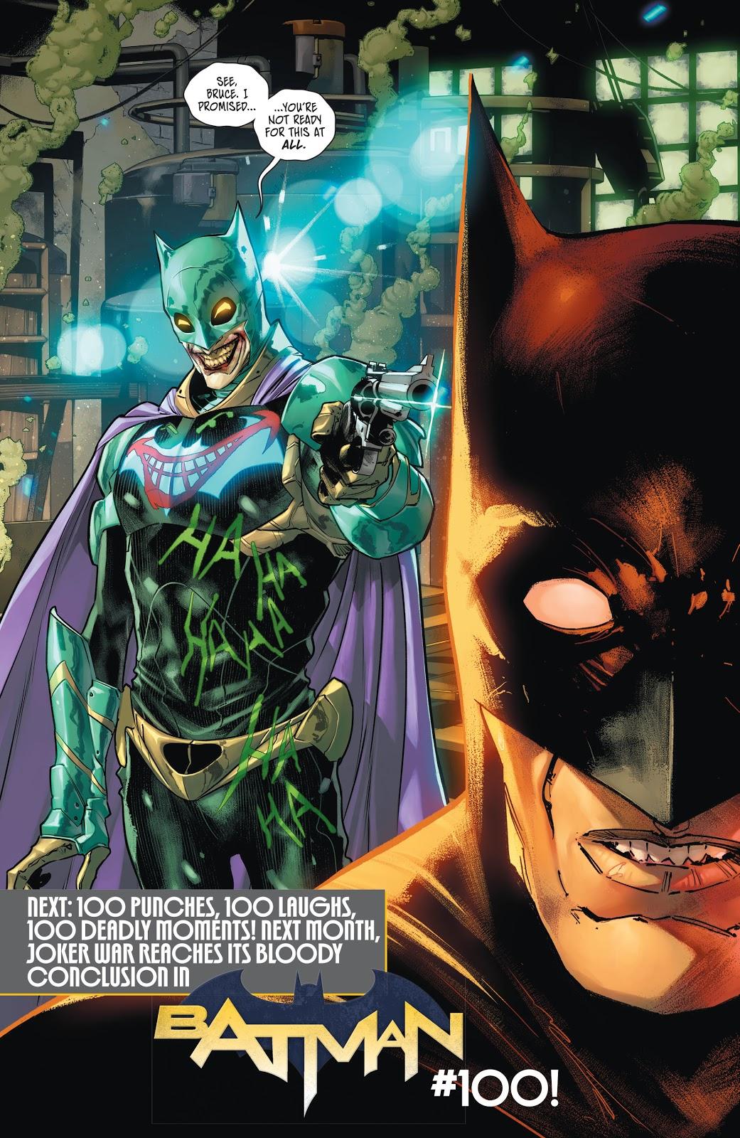 The Joker Wearing A Bat Suit