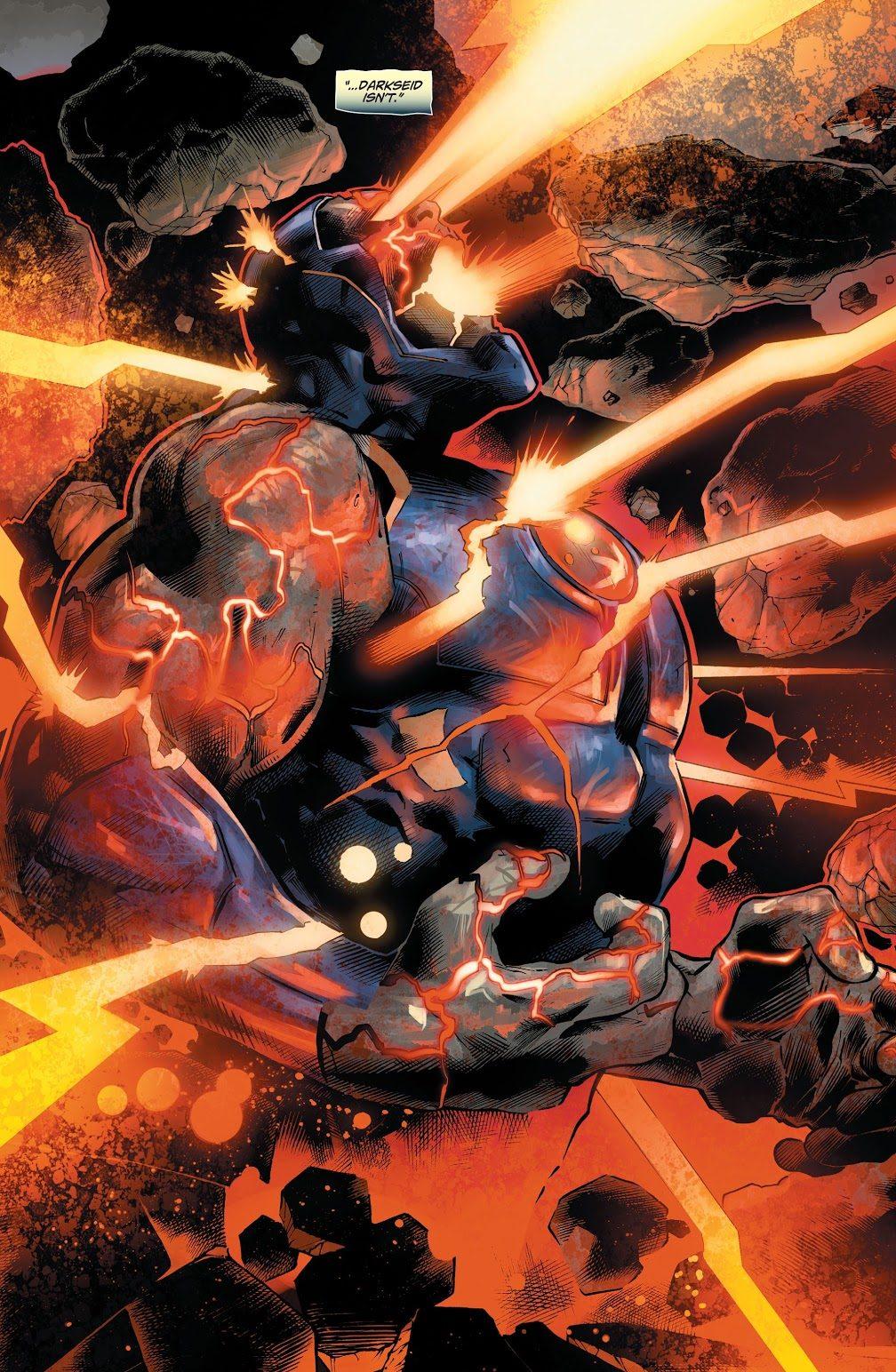 Unliving Darkseid (DCeased)