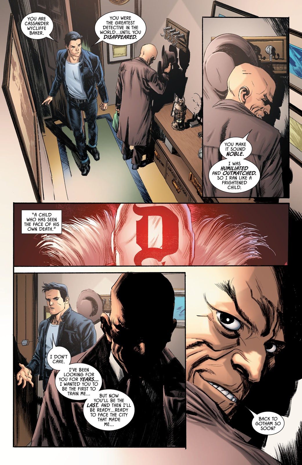 Who Taught Batman How To Be A Detective (Rebirth)