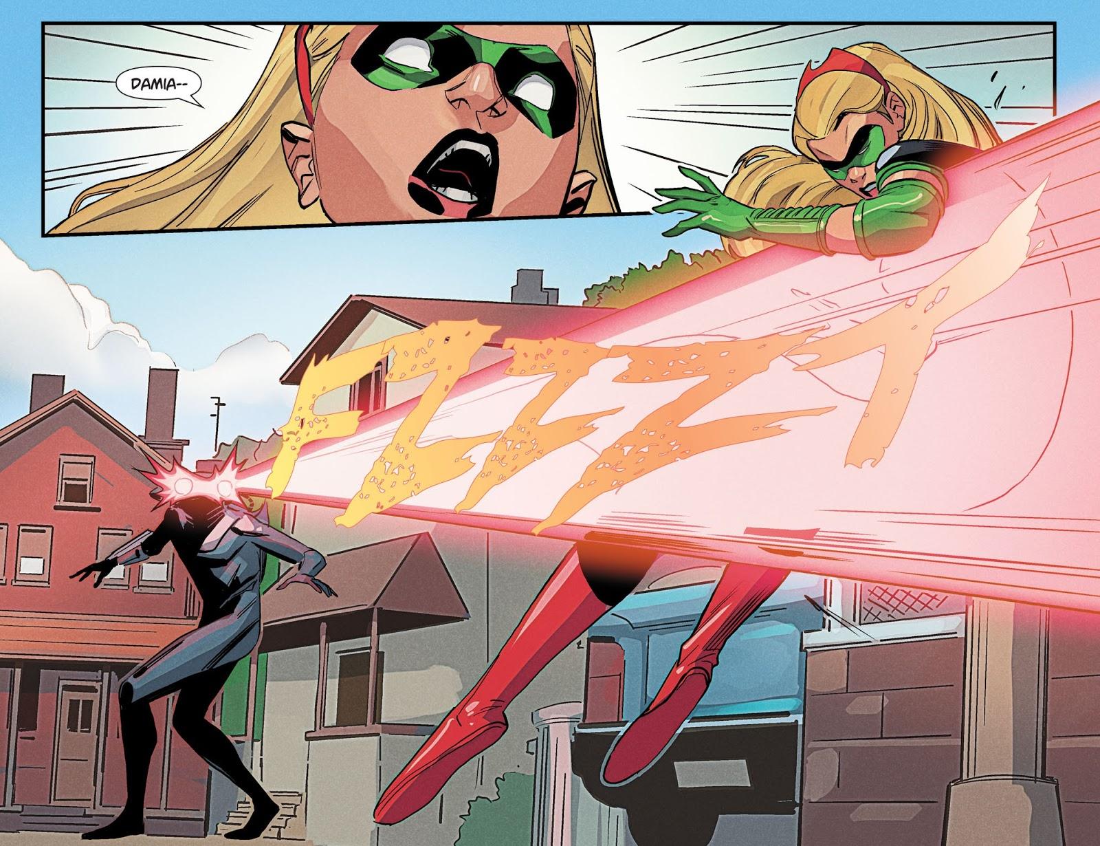Zombie Black Manta Kills Stephanie Brown (DCeased)