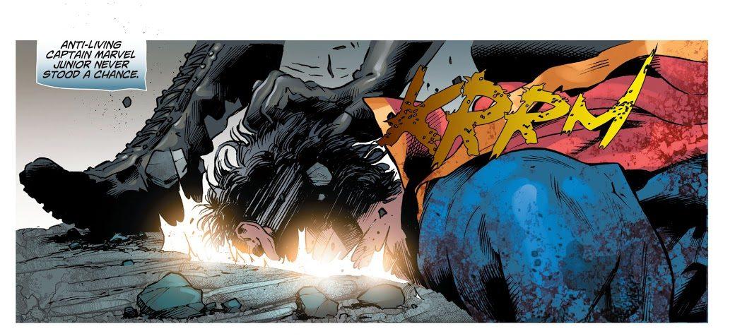 Cassandra Cain Becomes Shazam (DCeased)