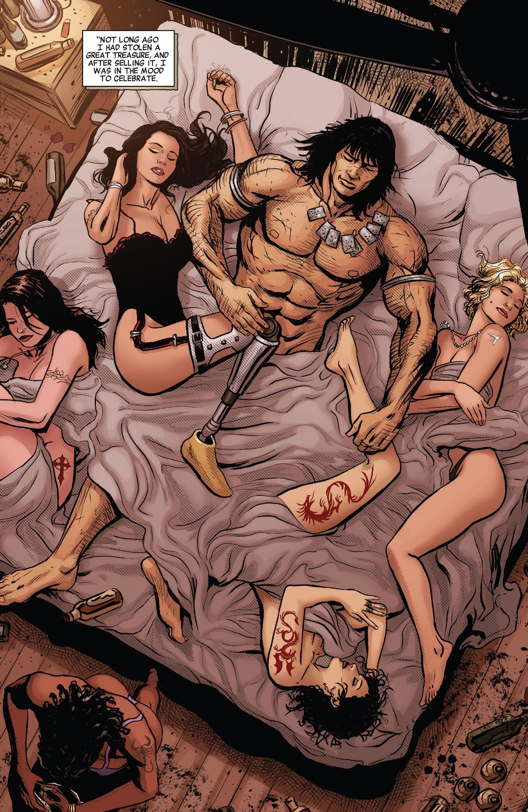 Conan The Barbarian (Savage Avengers #13)
