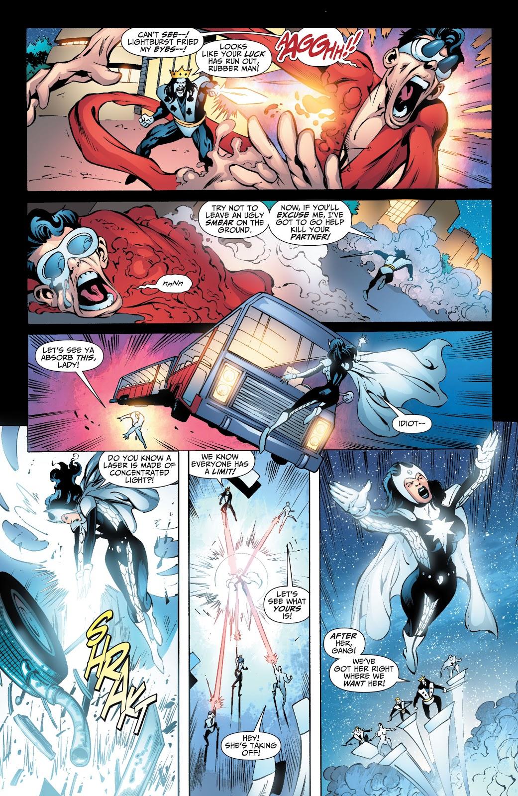 Doctor Light And Plastic Man VS Royal Flush Gang
