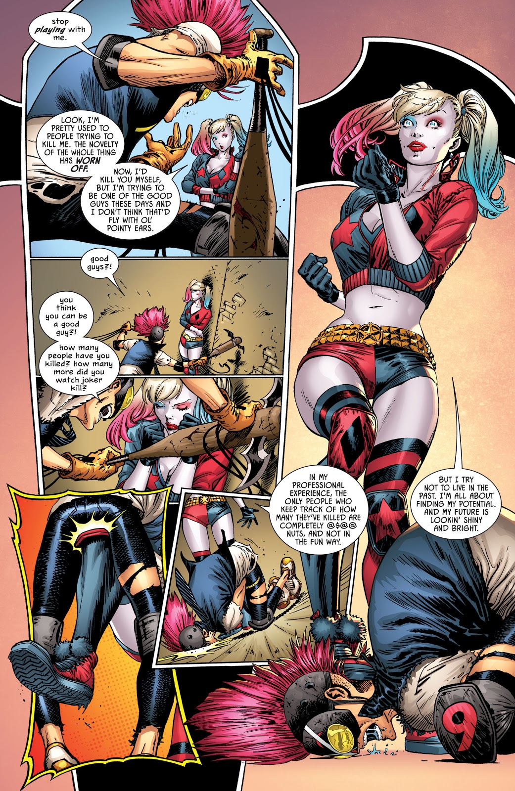 Harley Quinn Meets Clownhunter